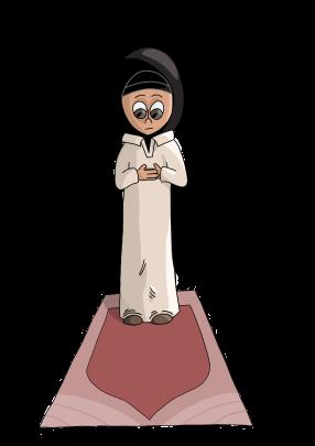 Muslim_Girl_Praying_-_Third_Word